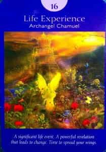 Life Experience (XVI/Tower) Angel Tarot